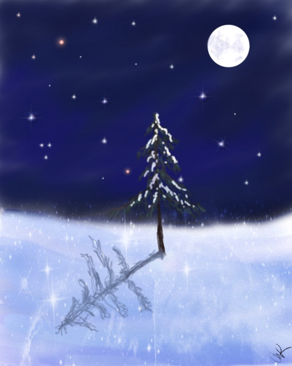 full cold moon, christmas