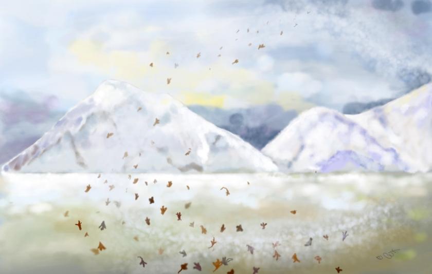 chris kapsa painting, storm front
