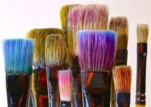 artist, paint